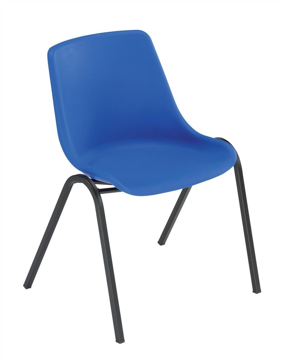 Image for &Trexus Polyprop Chair Blue