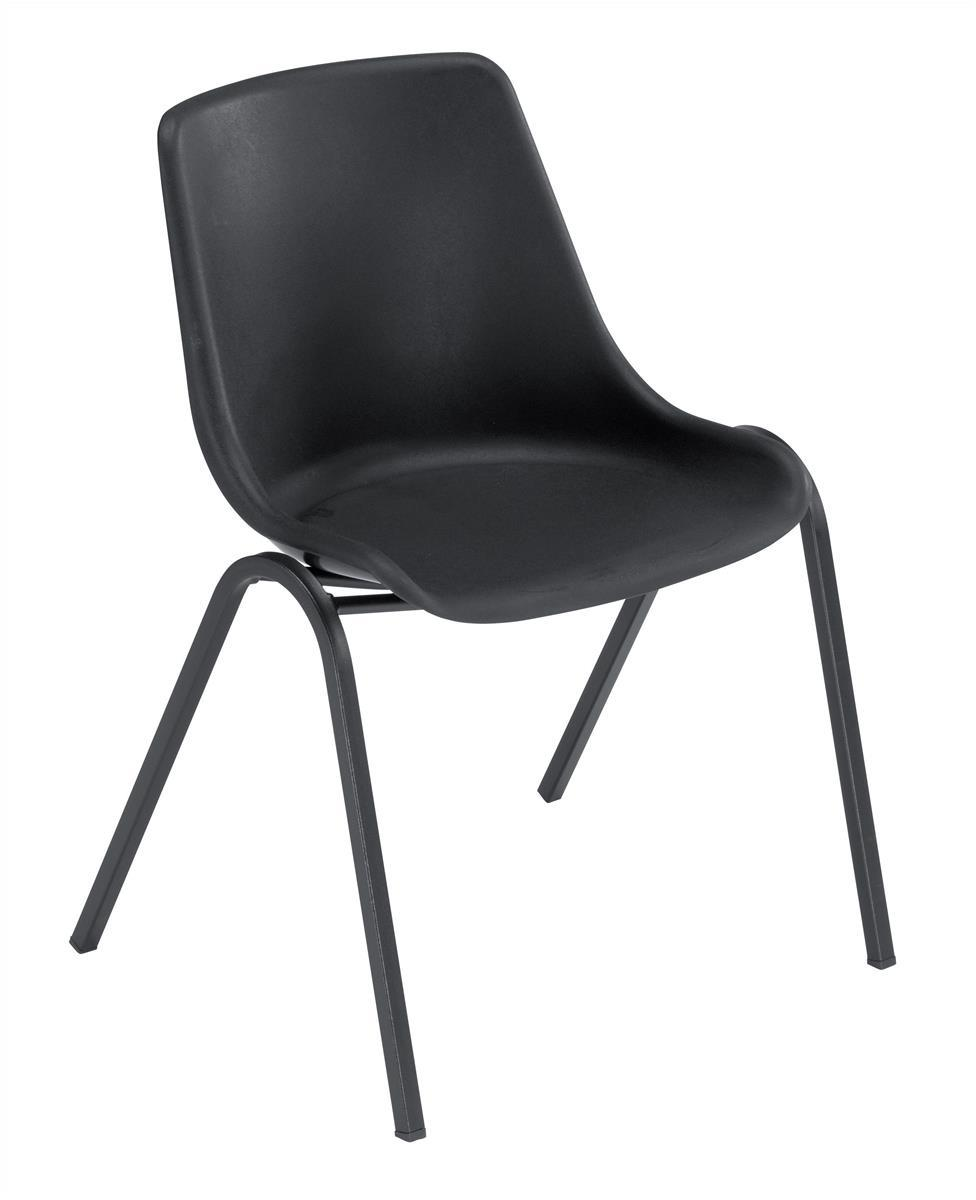 Image for &Trexus Polyprop Chair Black