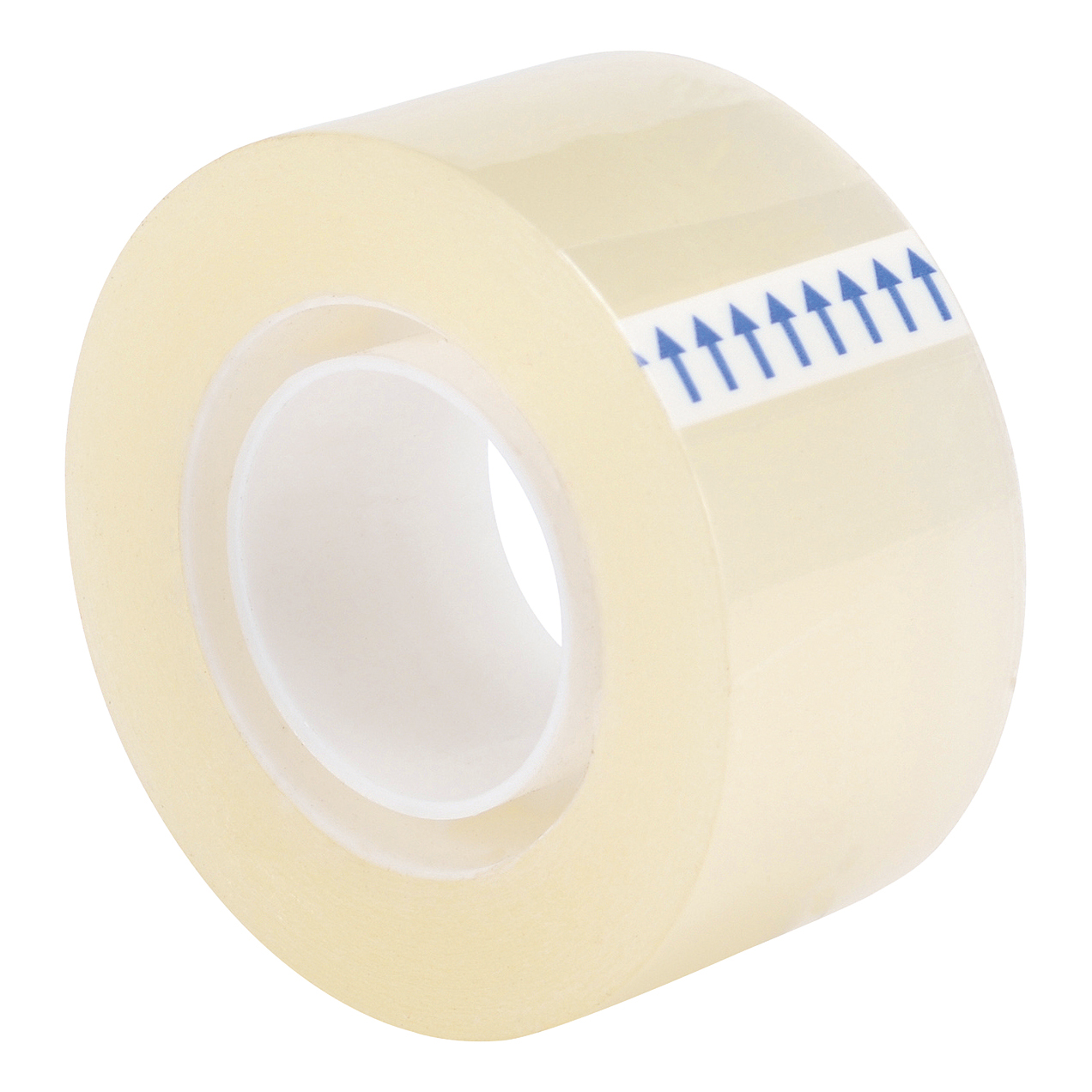 5 Star Office Clear Tape Roll Small Easy-tear Polypropylene 40 Microns 24mm x 33m [Pack 6]