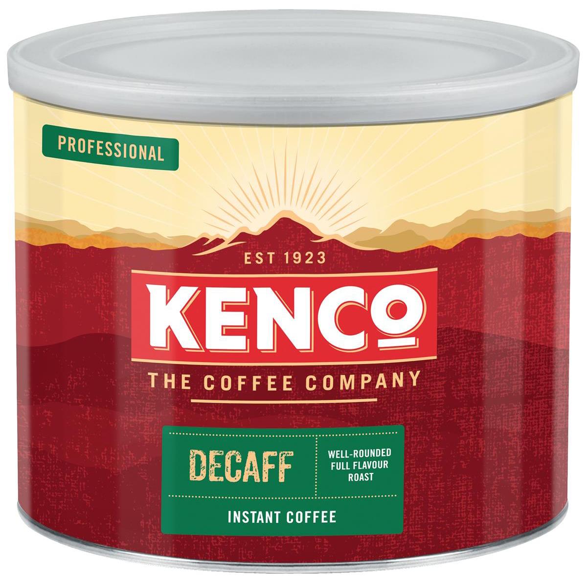 Kenco Decaffeinated Instant Coffee Tin 500g Ref 4032079