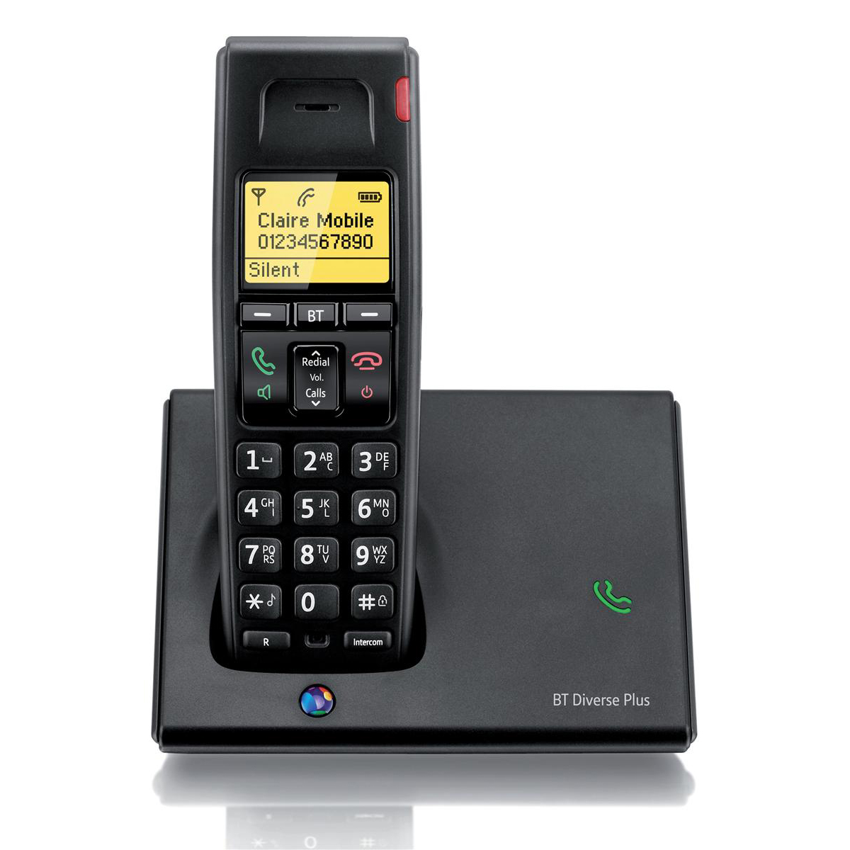 Image for BT Diverse 7110 Plus DECT Telephone Cordless GAP SMS 100-entry Directory 10 Redials Ref 060743