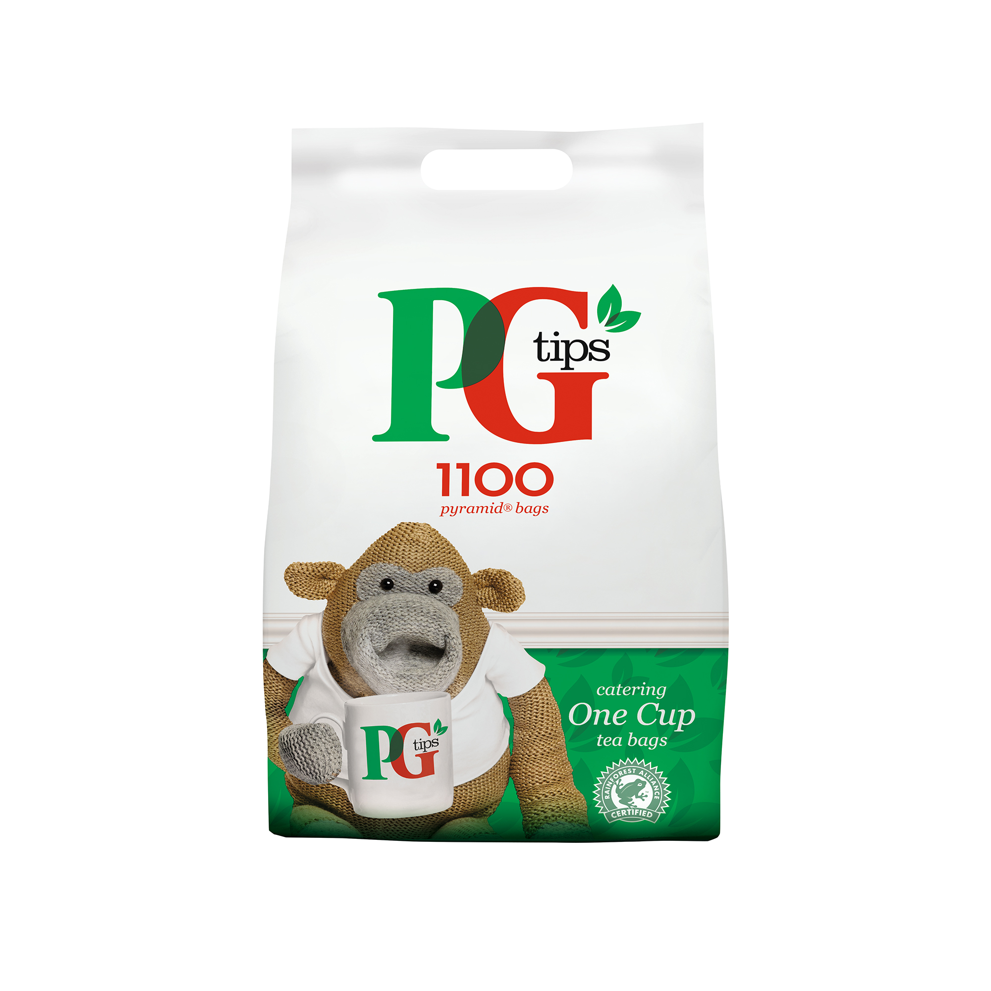 PG Tips Tea Bags Pyramid 1 Cup Ref 67395661 [Pack 1100]