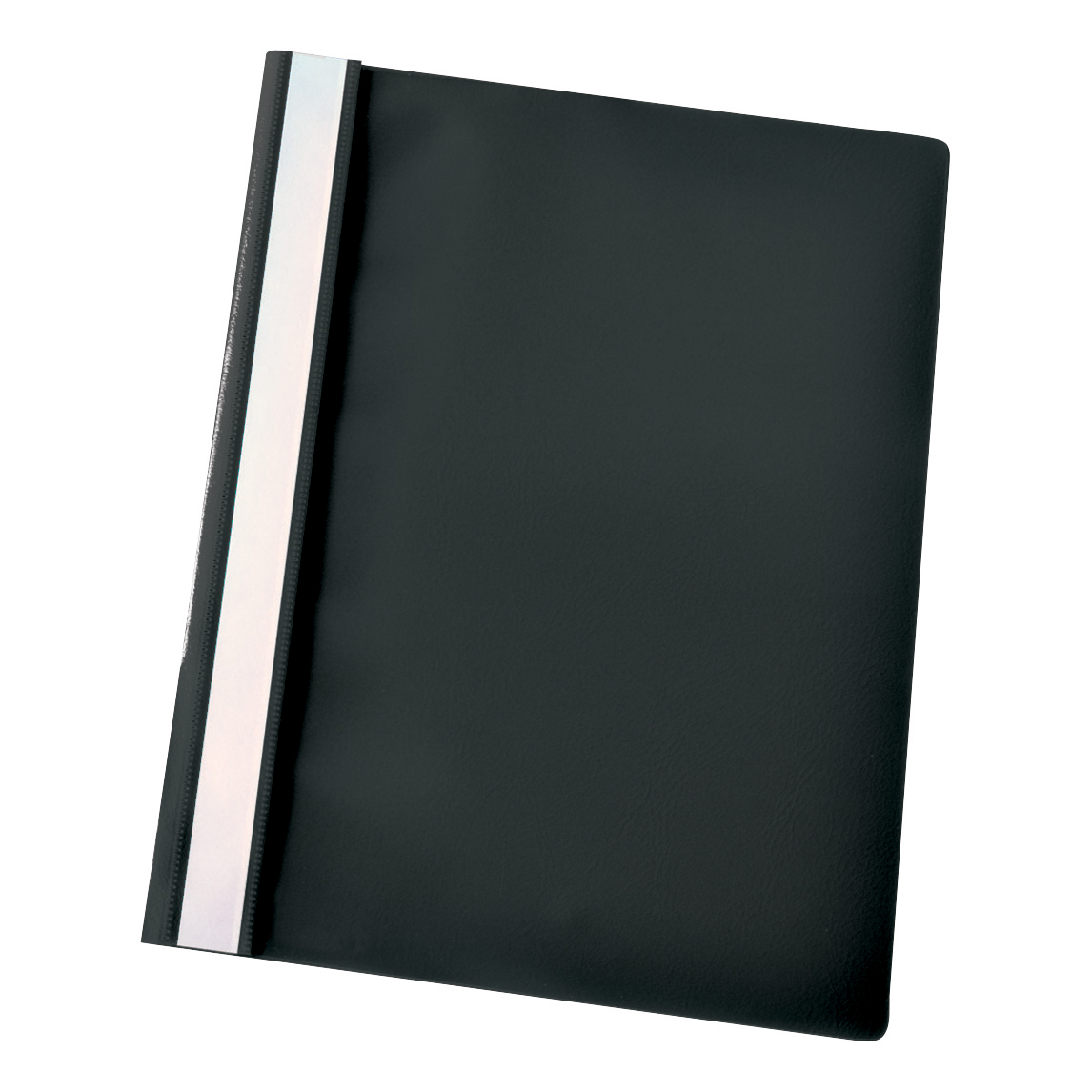 Esselte Report Flat File Lightweight Plastic Clear Front A4 Black Ref 28320 [Pack 25]