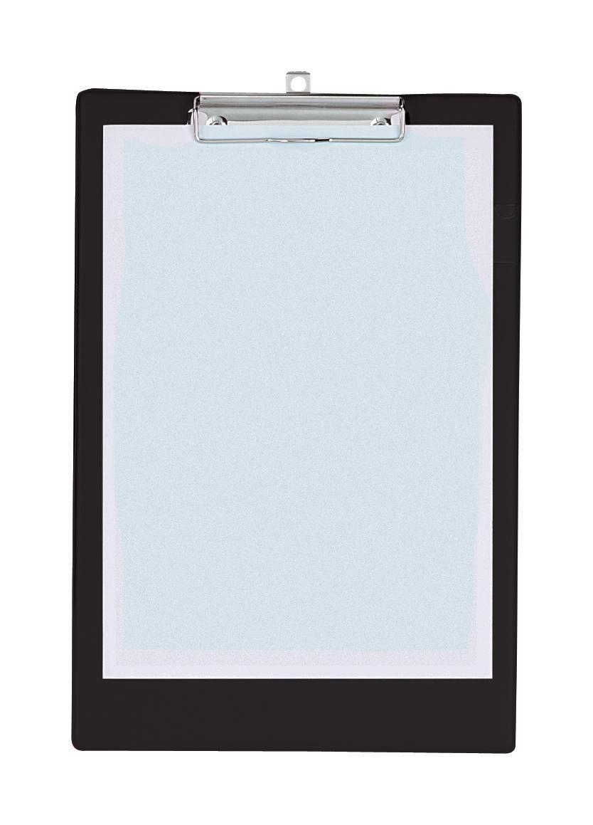 Image for Clipboard Standard with Pen Holder Foolscap Black