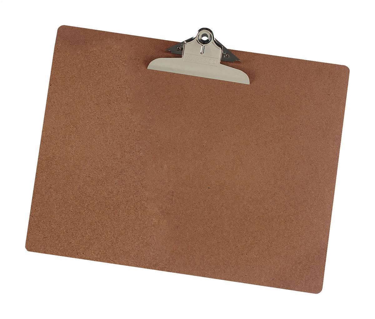 Image for Clipboard Hardboard A3 Brown