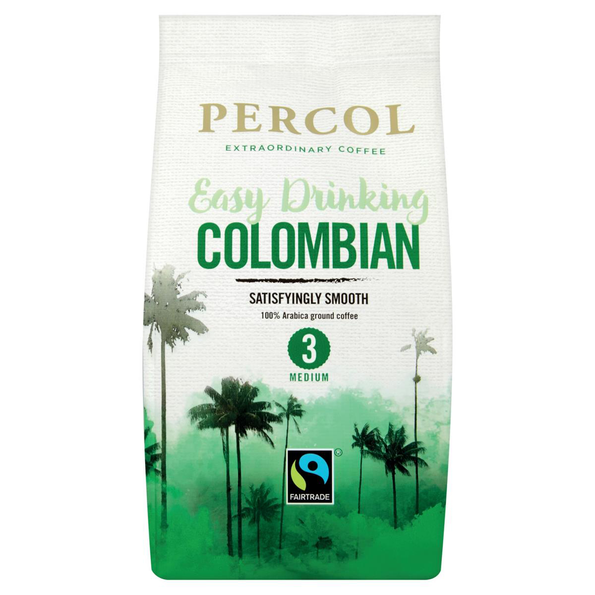 Percol Fairtrade Colom Coffee200g A07931