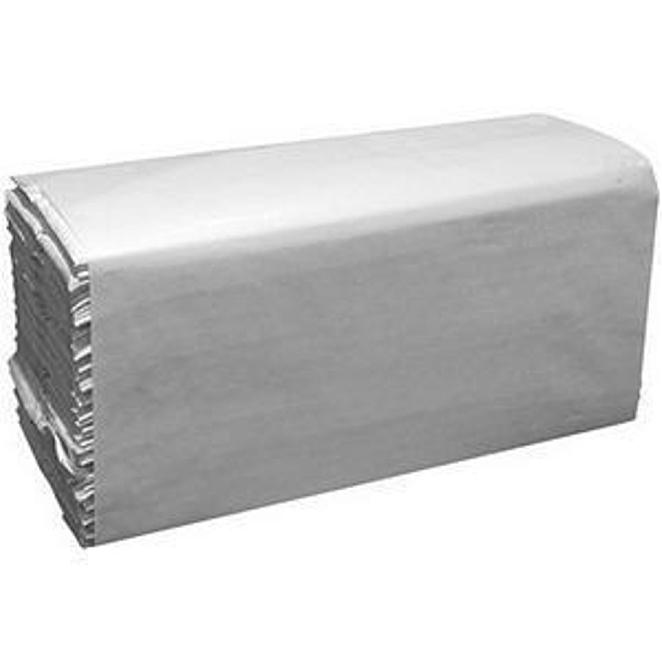 Image for Hand Towels C-Fold 2 Ply 230x310mm Sleeve of 200 Towels White