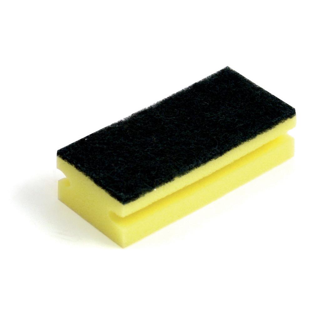 Sponge Back Scourer 140x70mm Pk10