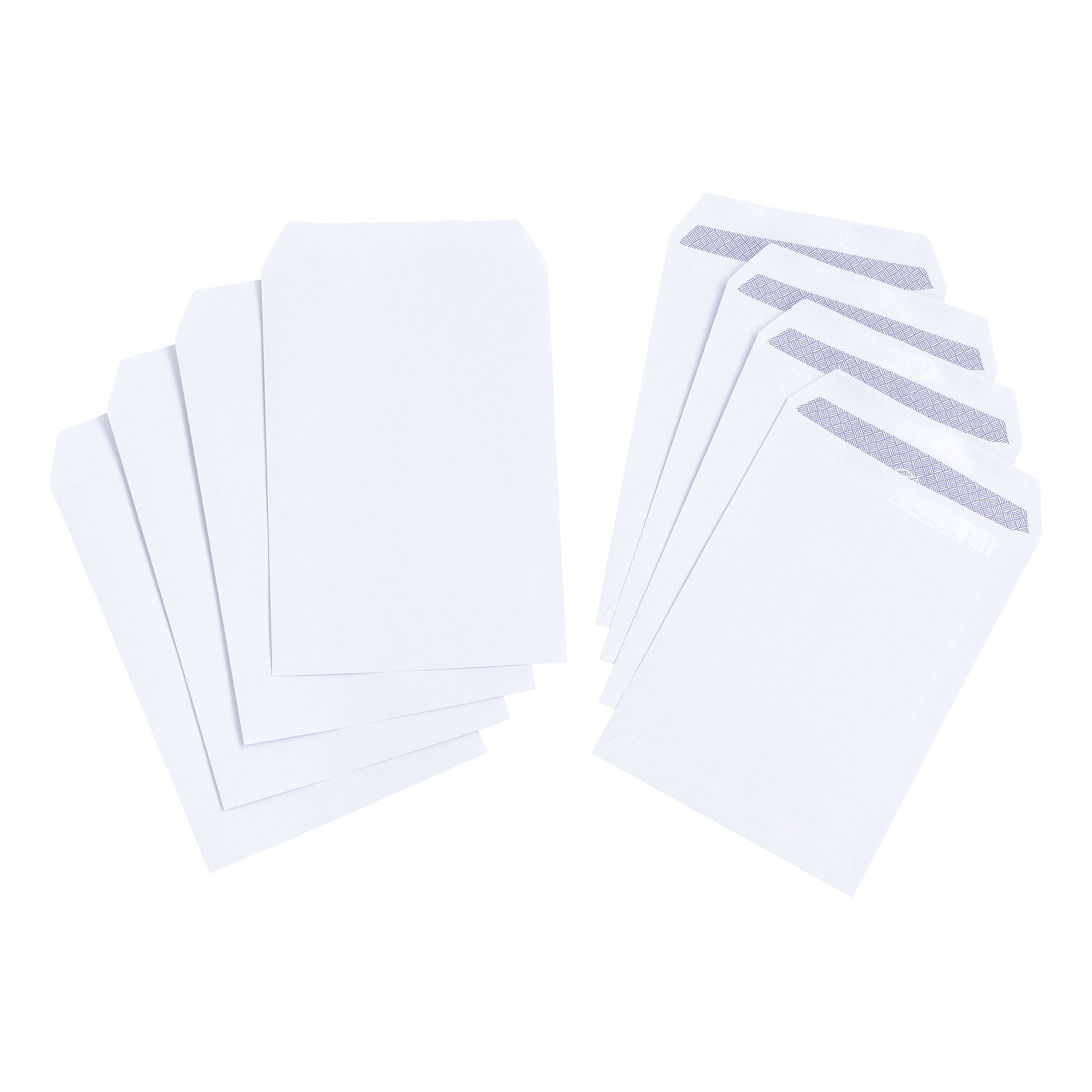 Kestrel White Pocket Envelope100gsm Opaqued Fastseal 500 pack - C5 229 x 162mm