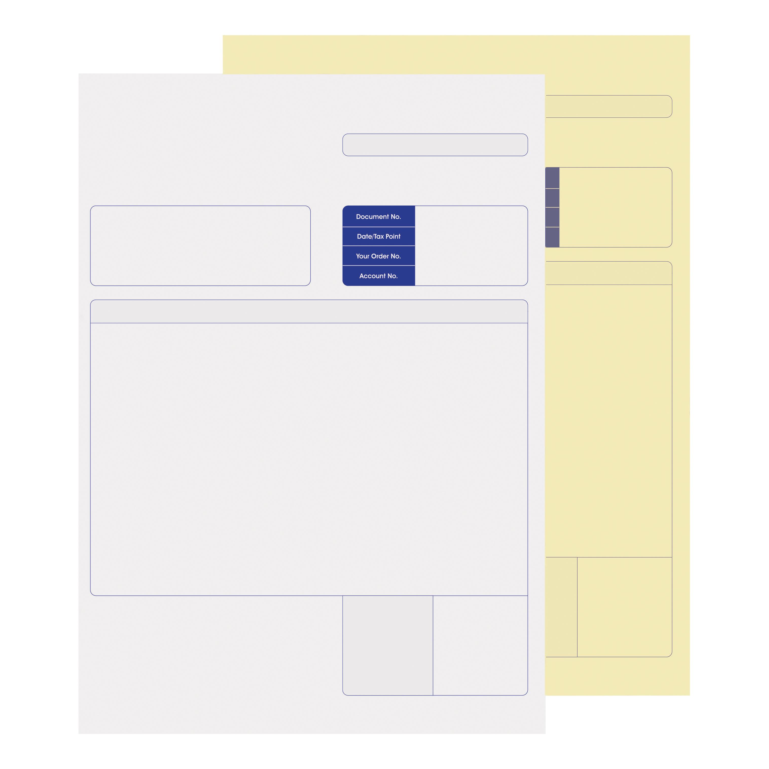 Pre-Printed Stationery