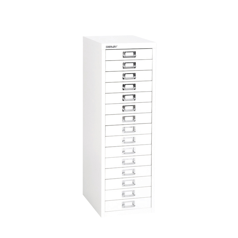 Bisley SoHo 15 Draw Multidrawer 279x408x860mm Chalk Ref H3915NL-26