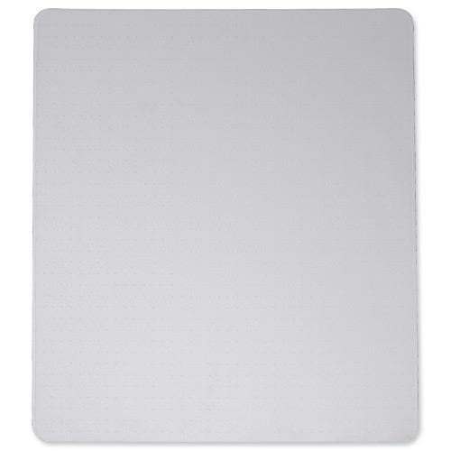 Cleartex Ultimat Chair Mat Polycarbonate Rectangular Carpet Protection 1200x1340mm Clear Ref FC1113423ER