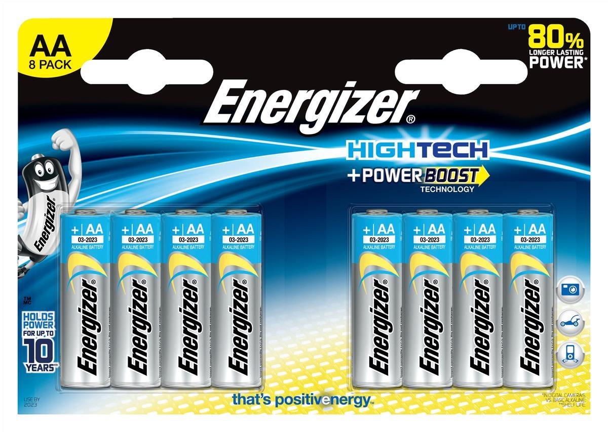 Energizer HighTech AA Pk8 635219