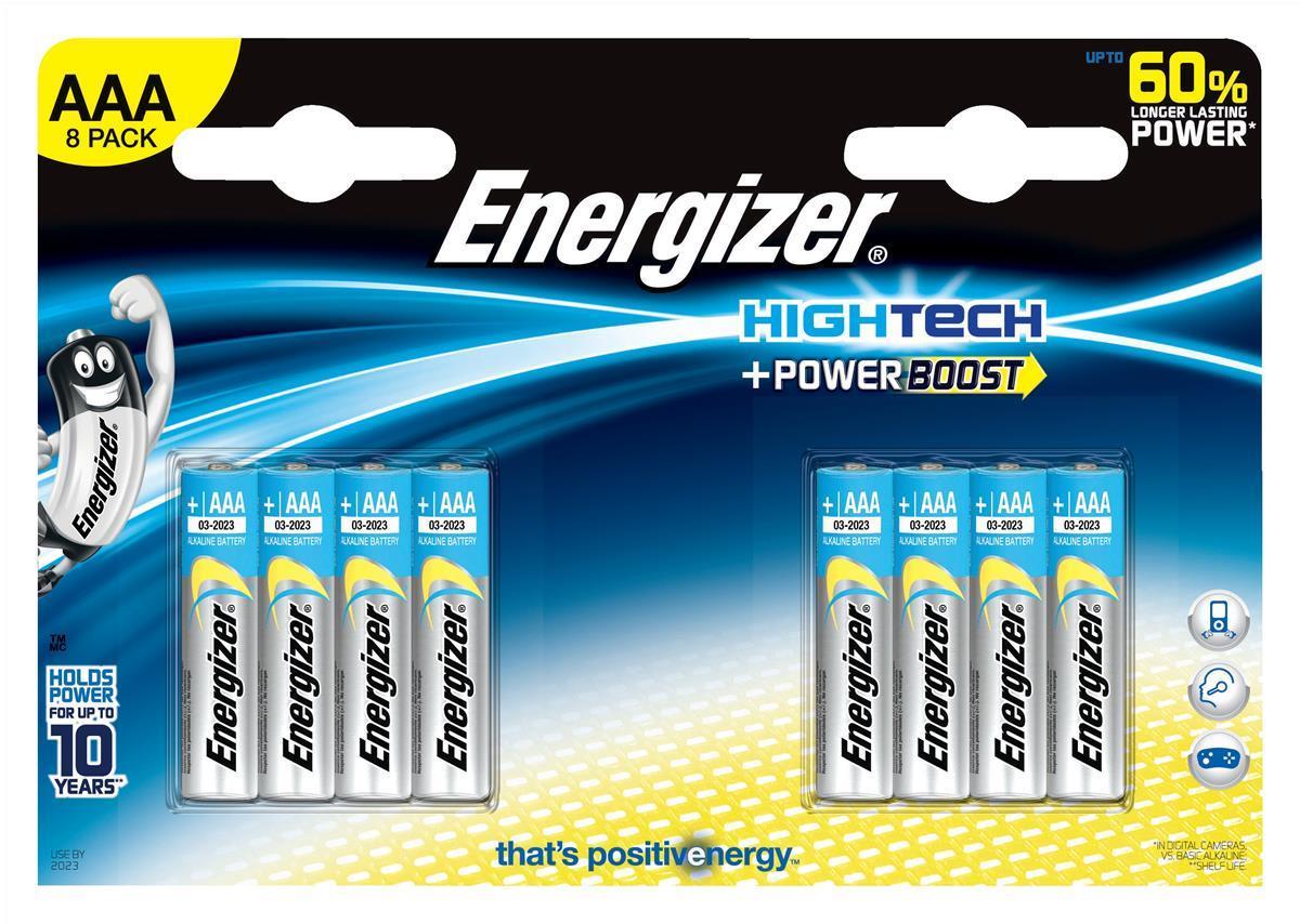 Energizer HighTech AAA Pk8 637447