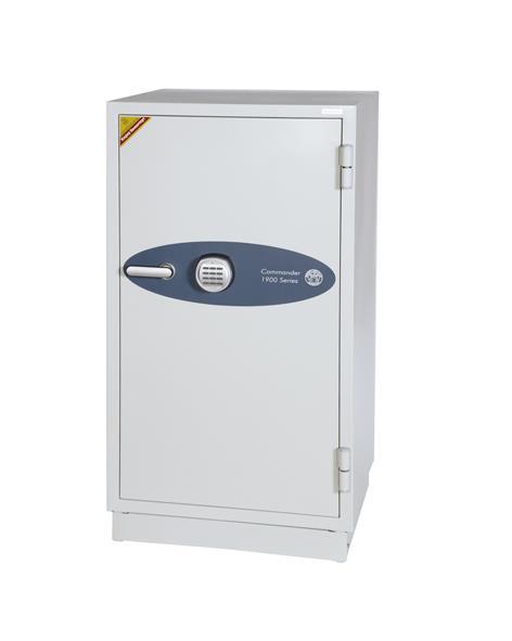 Image for Phoenix Fire Commander Safe for Paper 120mins Media 60mins Electronic Lock 228kg 163L Ref FS1901E