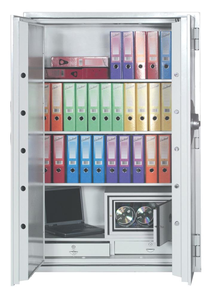 Image for Phoenix Fire Commander Safe for Paper 2hrs Media 1hr Electronic Lock 548kg W1124xD700xH1770mm Ref FS1903E