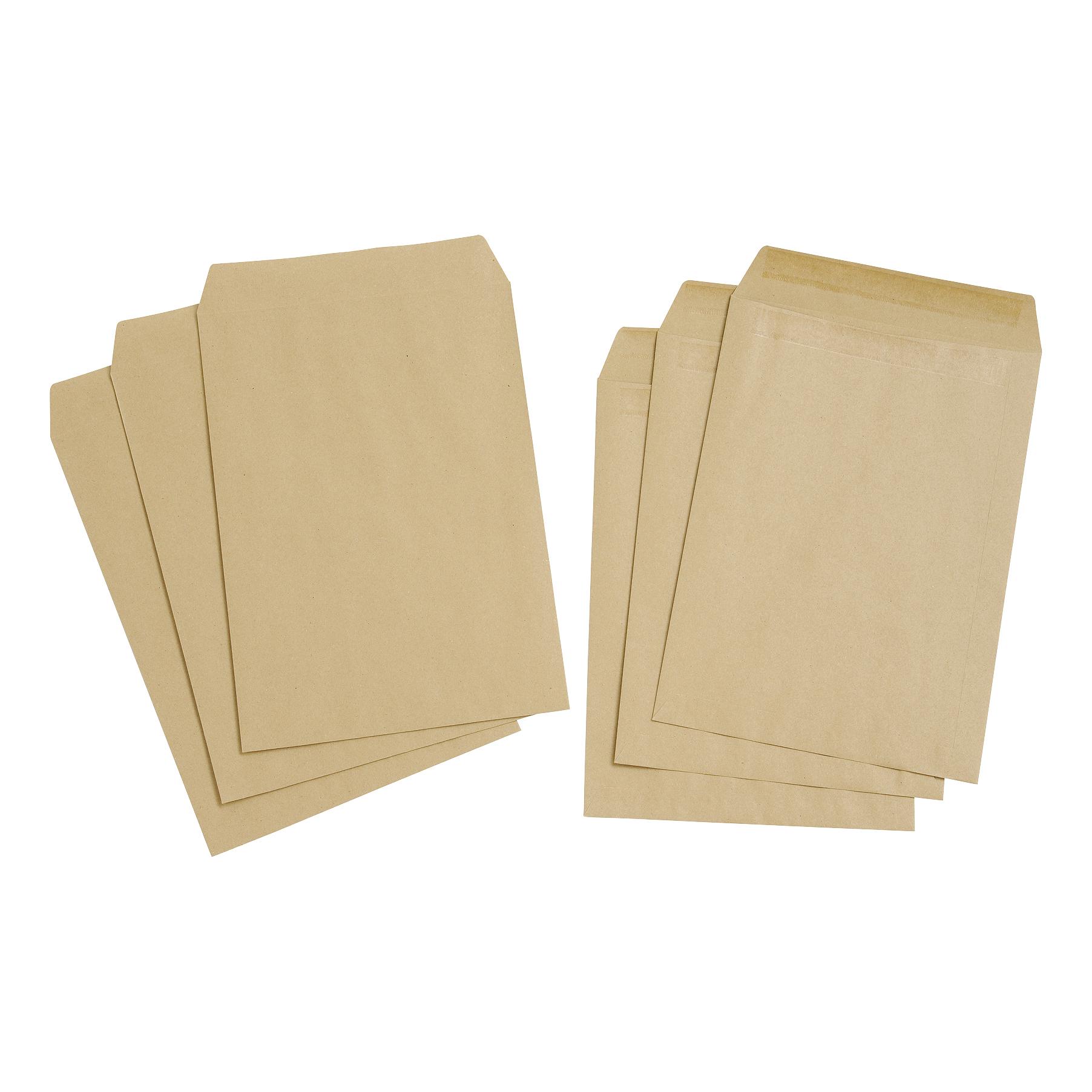 Uno Envelope C4 Buff Manilla P5 Pocket Nwd Plain Box 250