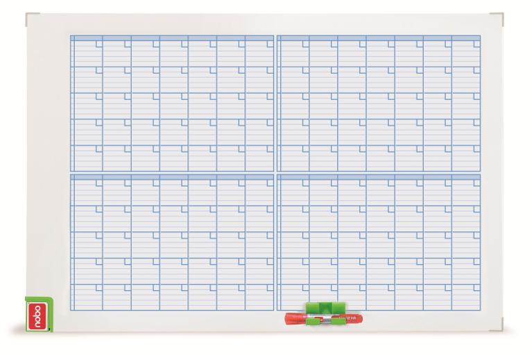 Nobo Monthly Brd Mag Planner 3048101