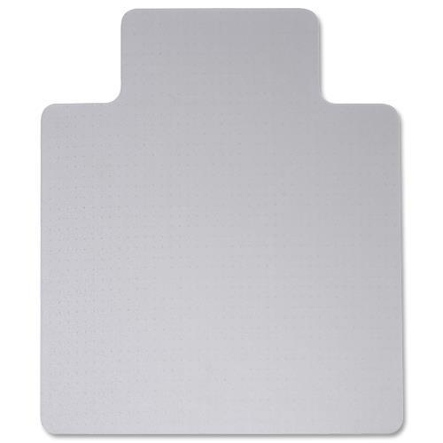 Computex Advantagemat Chair Mat PVC Rectangular with Lip For Carpets 1150x1340mm Clear Ref FC31341525LV
