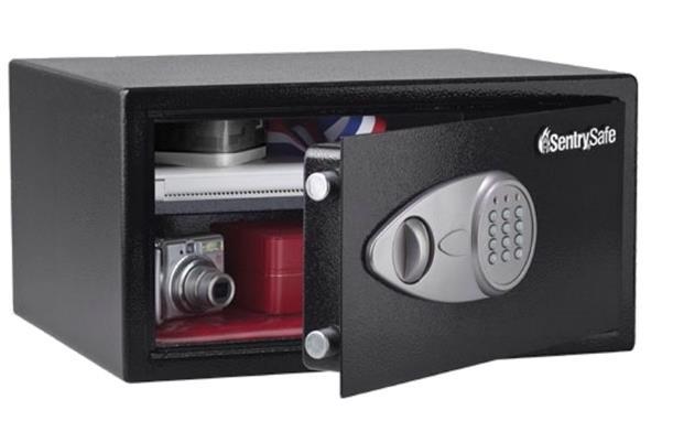Sentry Safe LtopSize ElecLock&Cable X105