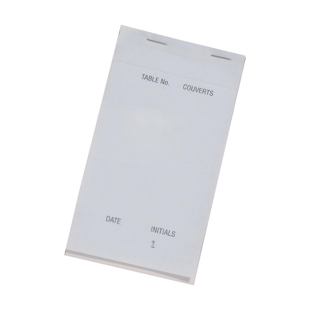 Duplicate Pad Carbonless Perforated Numbered 1-50 95x165mm [Pack 50]