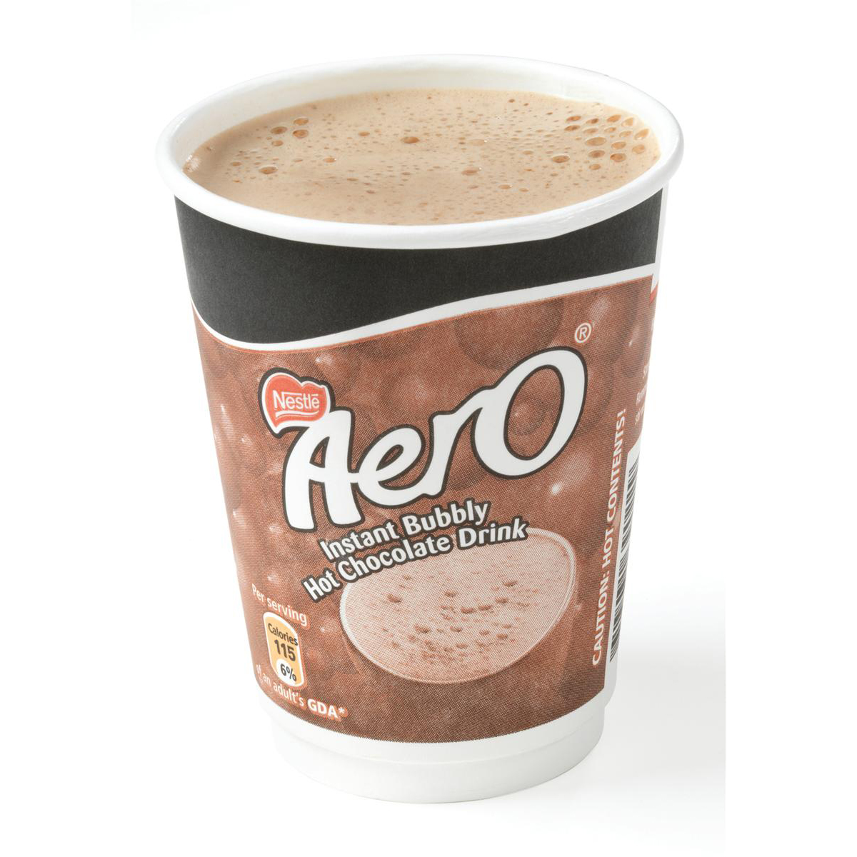 Nescafe & Go Aero Hot Chocolate Foil-sealed Cup for Drinks Machine Ref 12310644 [Pack 8]