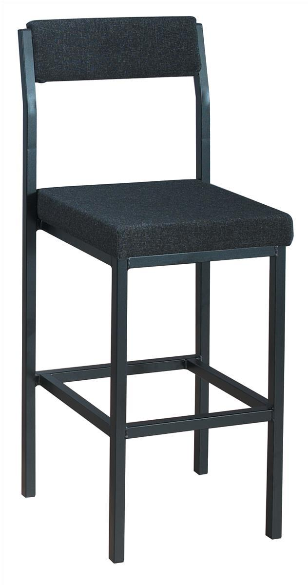 Image for &Trexus High Stool with back Char PS4044