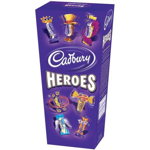 Cadbury Heroes Miniature Chocolates Selection Box 185g Ref A07945