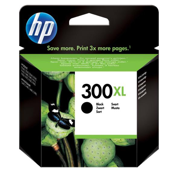 Hewlett Packard [HP] No.300XL Inkjet Cartridge High Yield Page Life 600pp 12ml Black Ref CC641EE