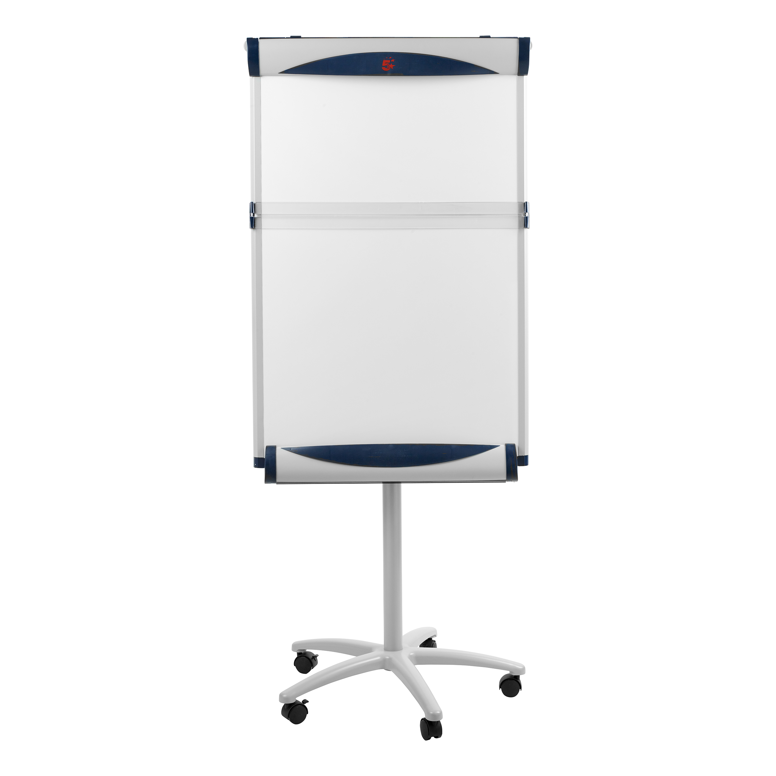 5 Star Premier Mobile Executive Easel Magnetic Mobile on 3 Castors for Pads A1 and Euro Code 8102471