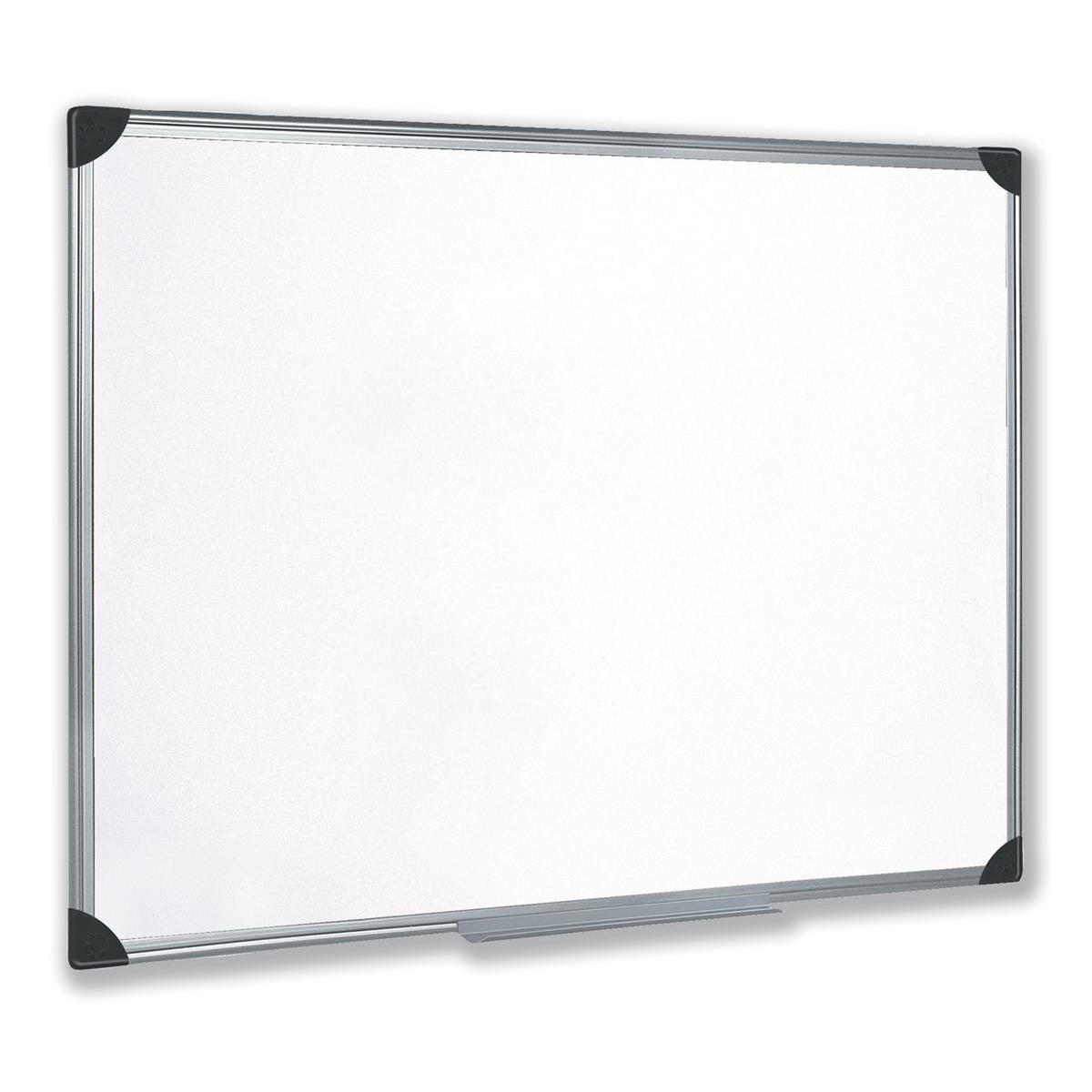 5 Star Whiteboard Drywipe Magnetic with Pen Tray and Aluminium Trim 900x600mm