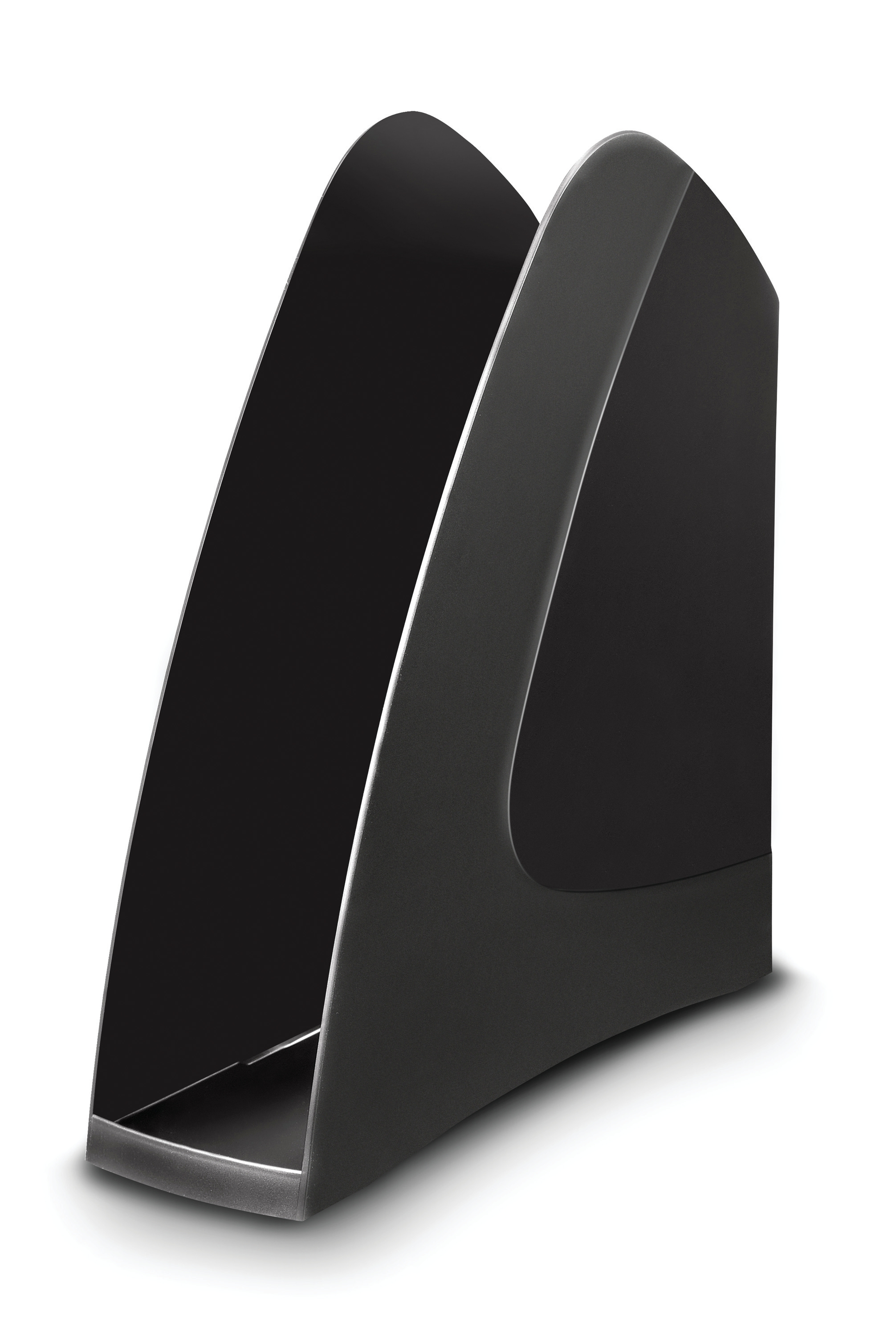 Image for 5 Star Office Magazine Rack File Low Sill W80x254x310mm Black