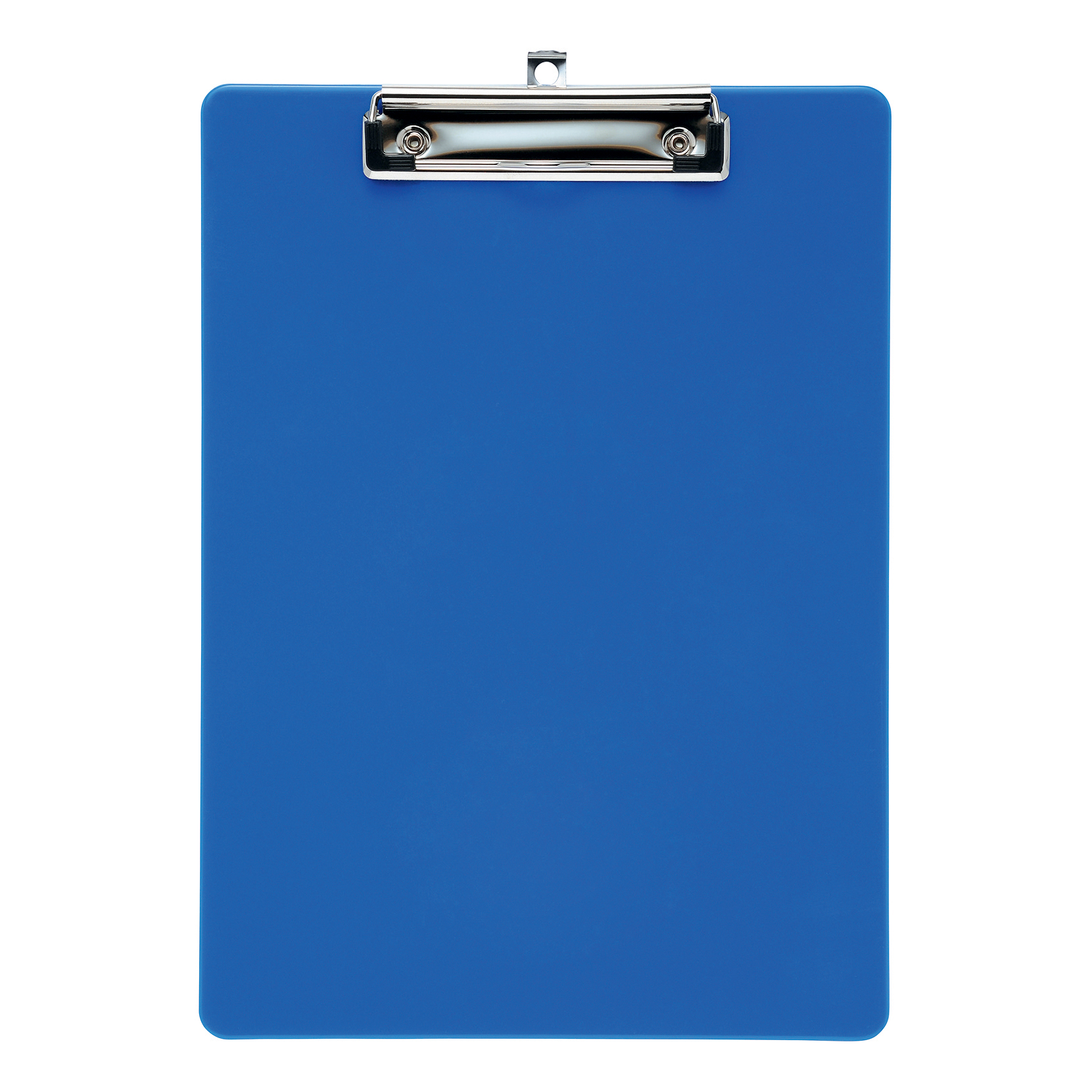 5 Star Plastic Clipboard A4 Blue