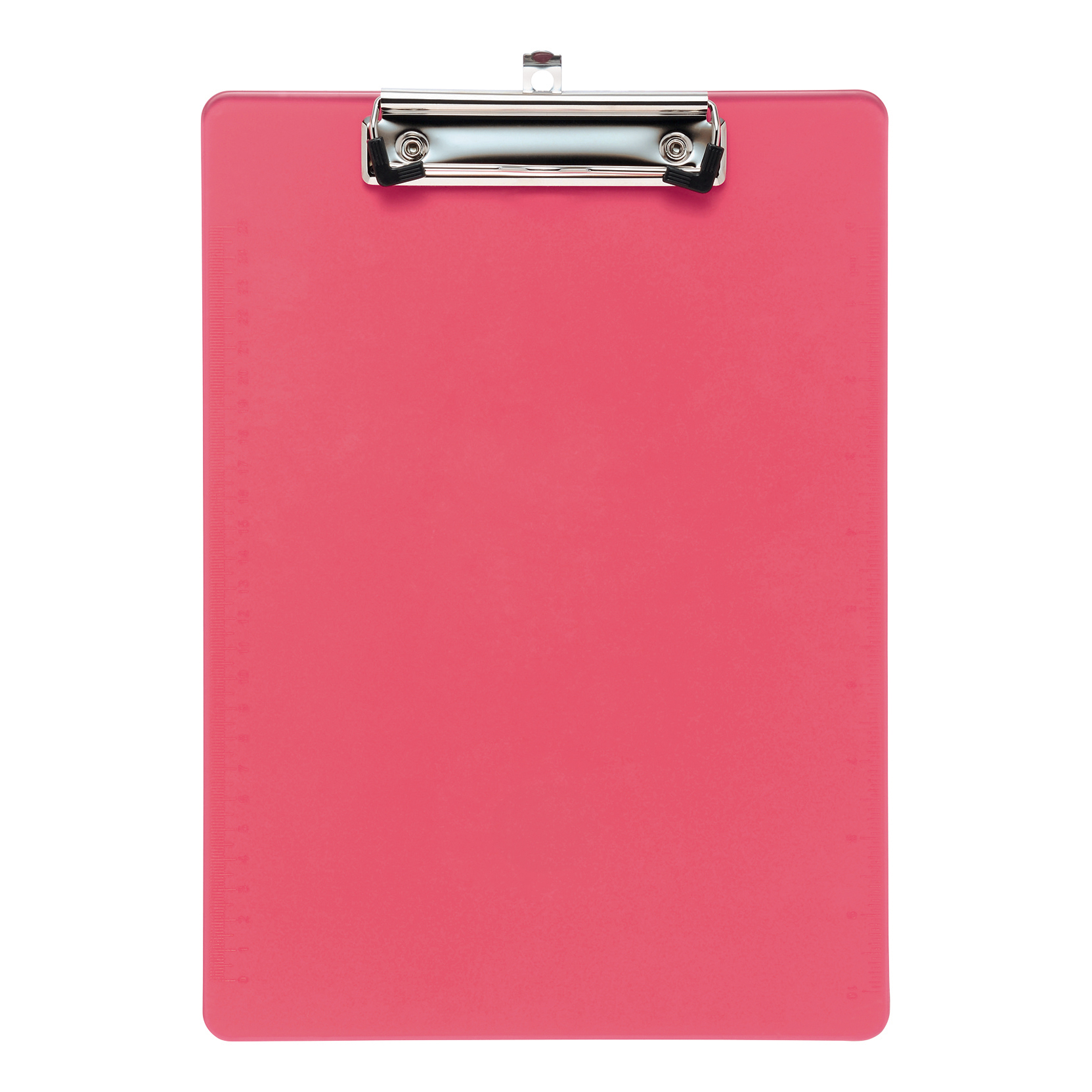 5 Star Office Clipboard Plastic Durable with Rounded Corners A4 Pink