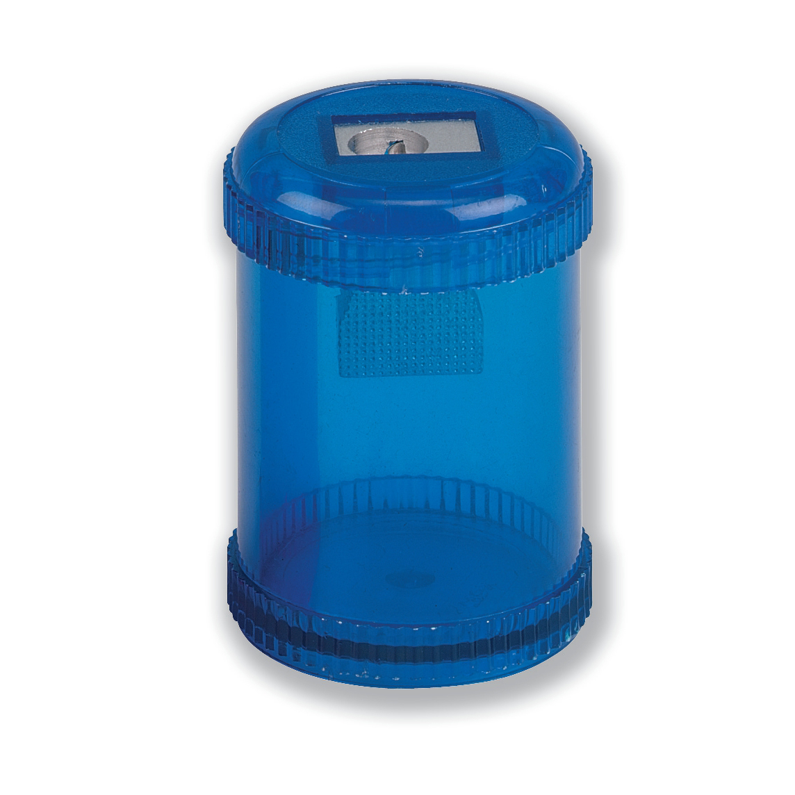 Image for 5 Star Pencil Sharpener Plastic Canister Maximum Pencil Diameter 8mm 1 Hole Coloured