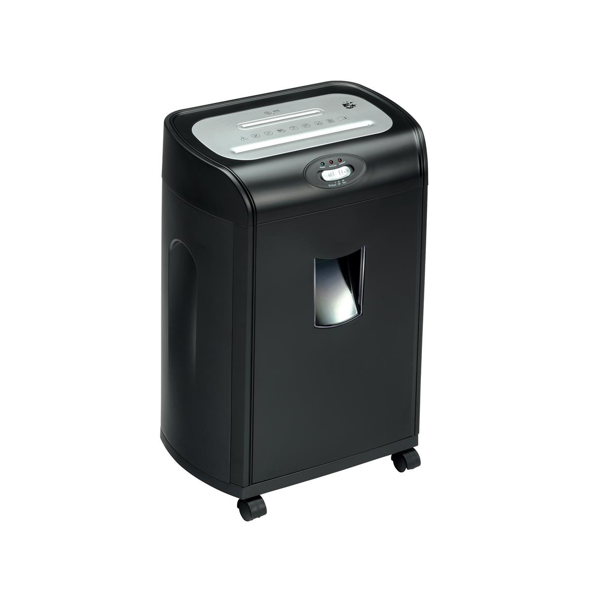 Image for 5 Star Office SC16 Shredder Strip Cut P-2 Security 15 Sheets 20 Litre Capacity