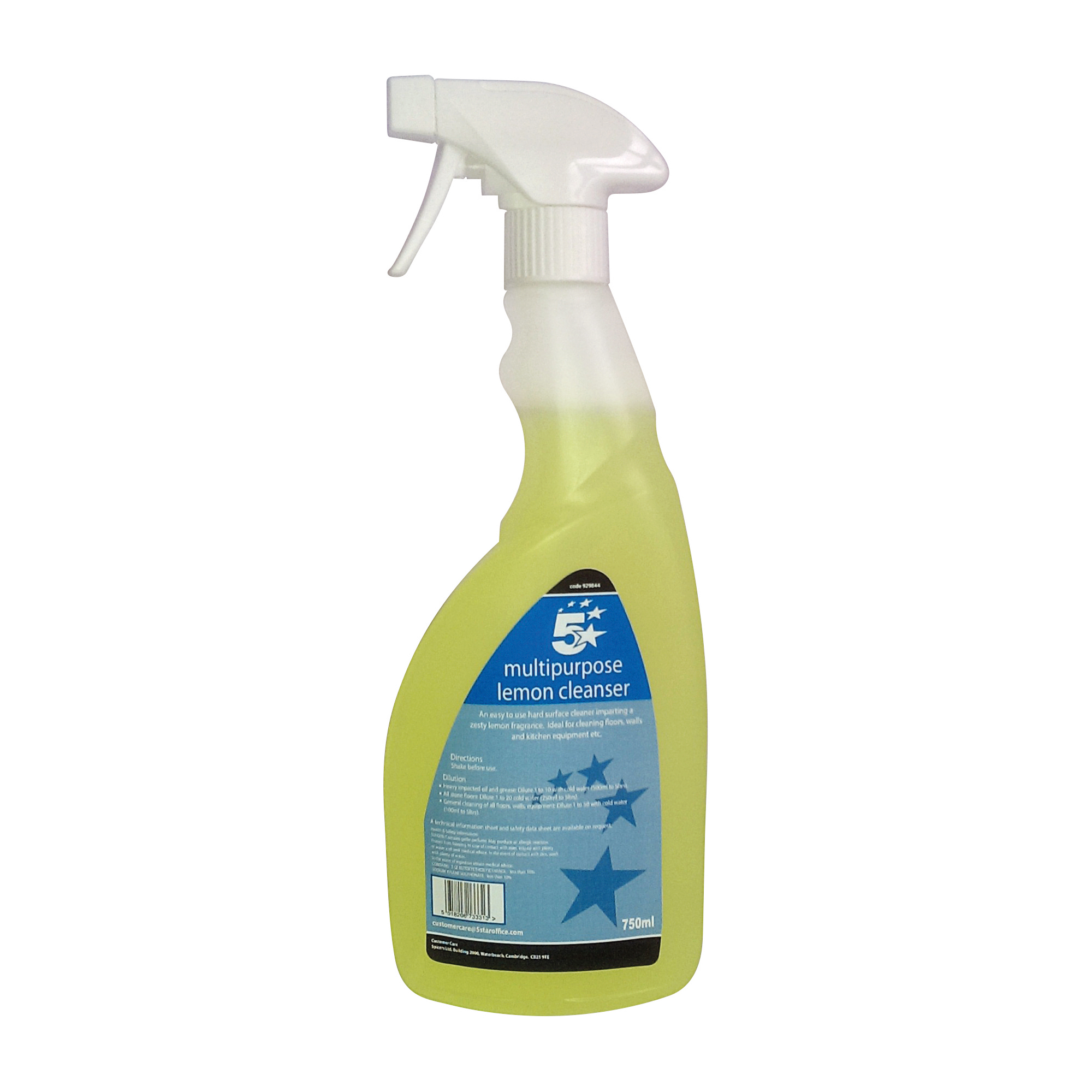 5 Star Facilities Ready-to-use Multi-purpose Cleaner Lemon 750ml