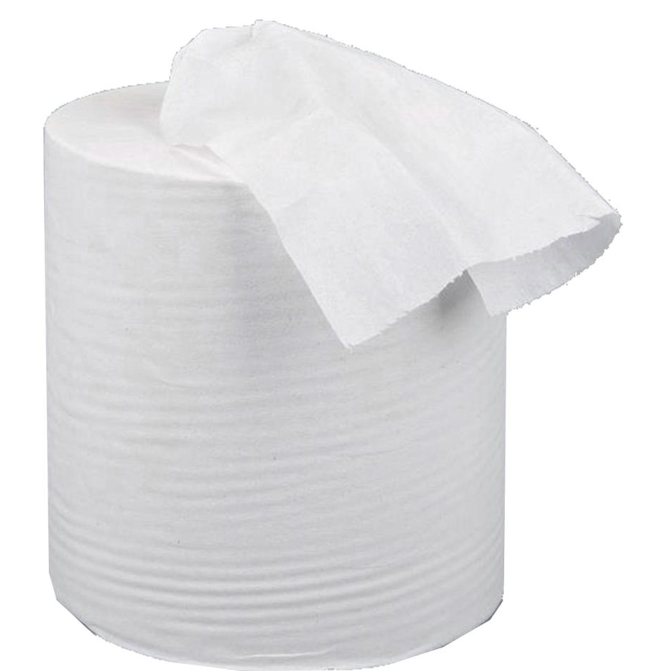 5 Star Centrefeed Tissue Refill for Dispenser White One-ply 120m