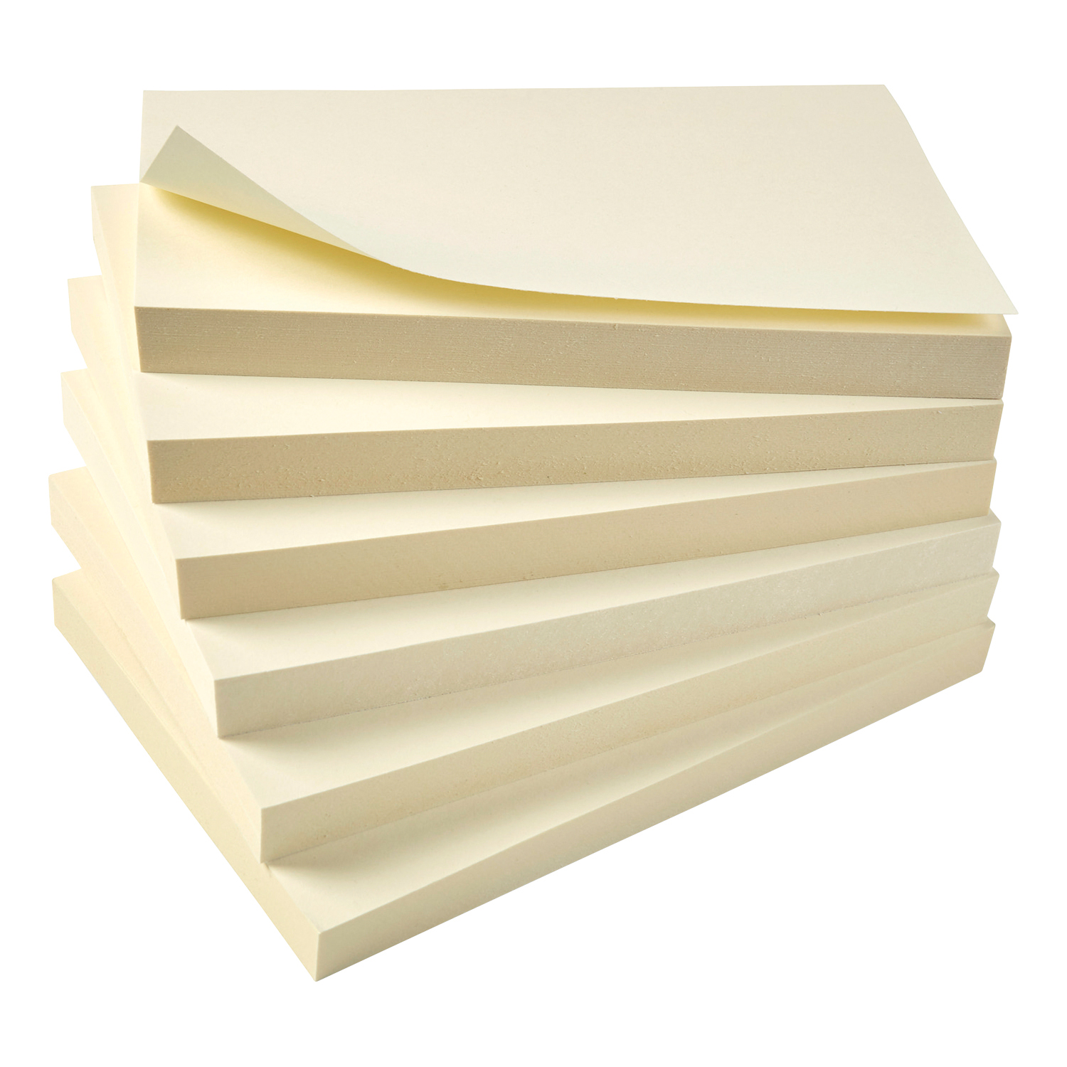 Image for 5 Star Eco Re-Move Recycled Notes Repositionable Pad of 100 Sheets 76x127mm Yellow [Pack 12]