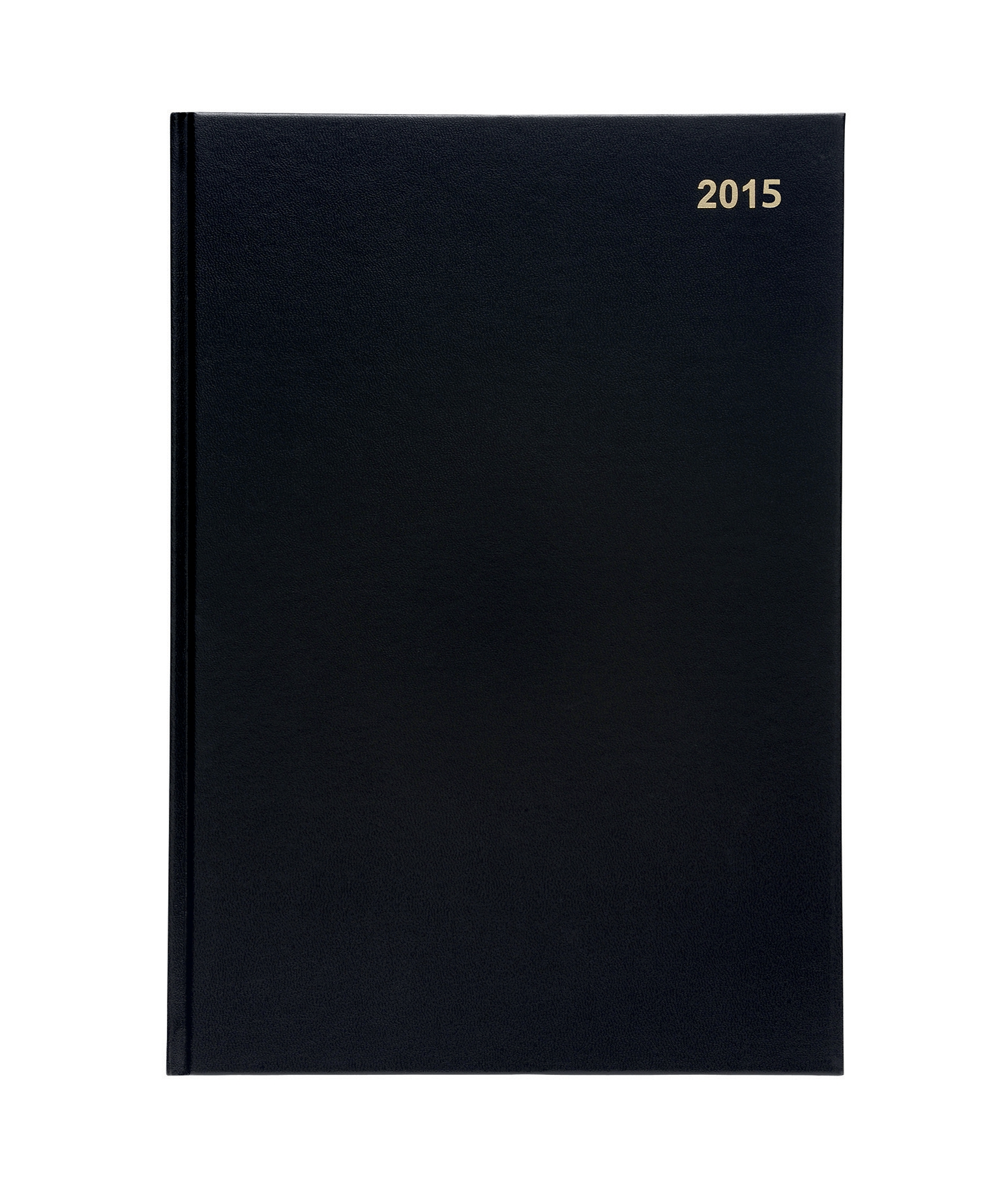 5 Star 2016 A4 2Day To Page Diary Black