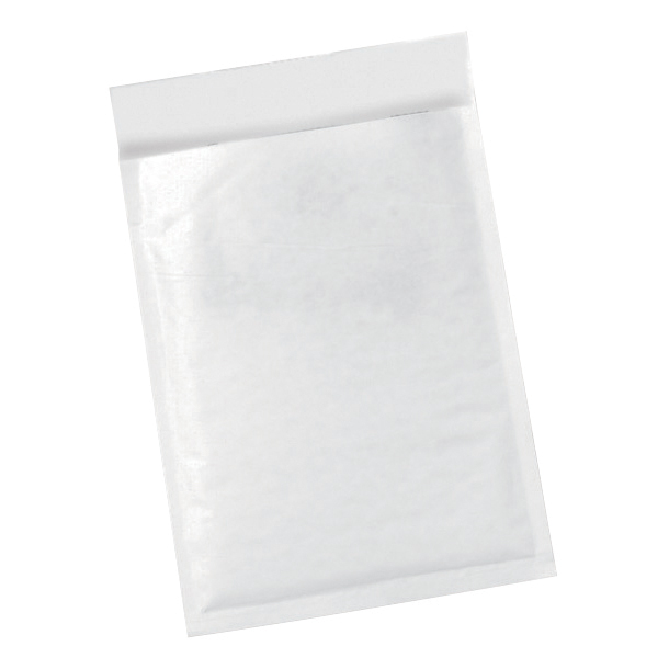5 Star Office Bubble Bags Peel and Seal No.2 White 205x245mm [Pack 100]
