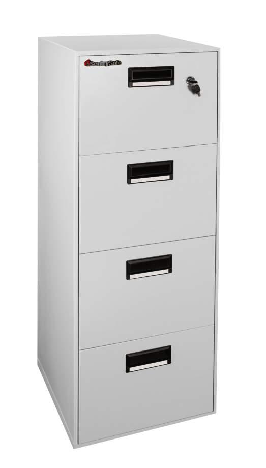 4 Drawer Fire & Water Res Filing Cab