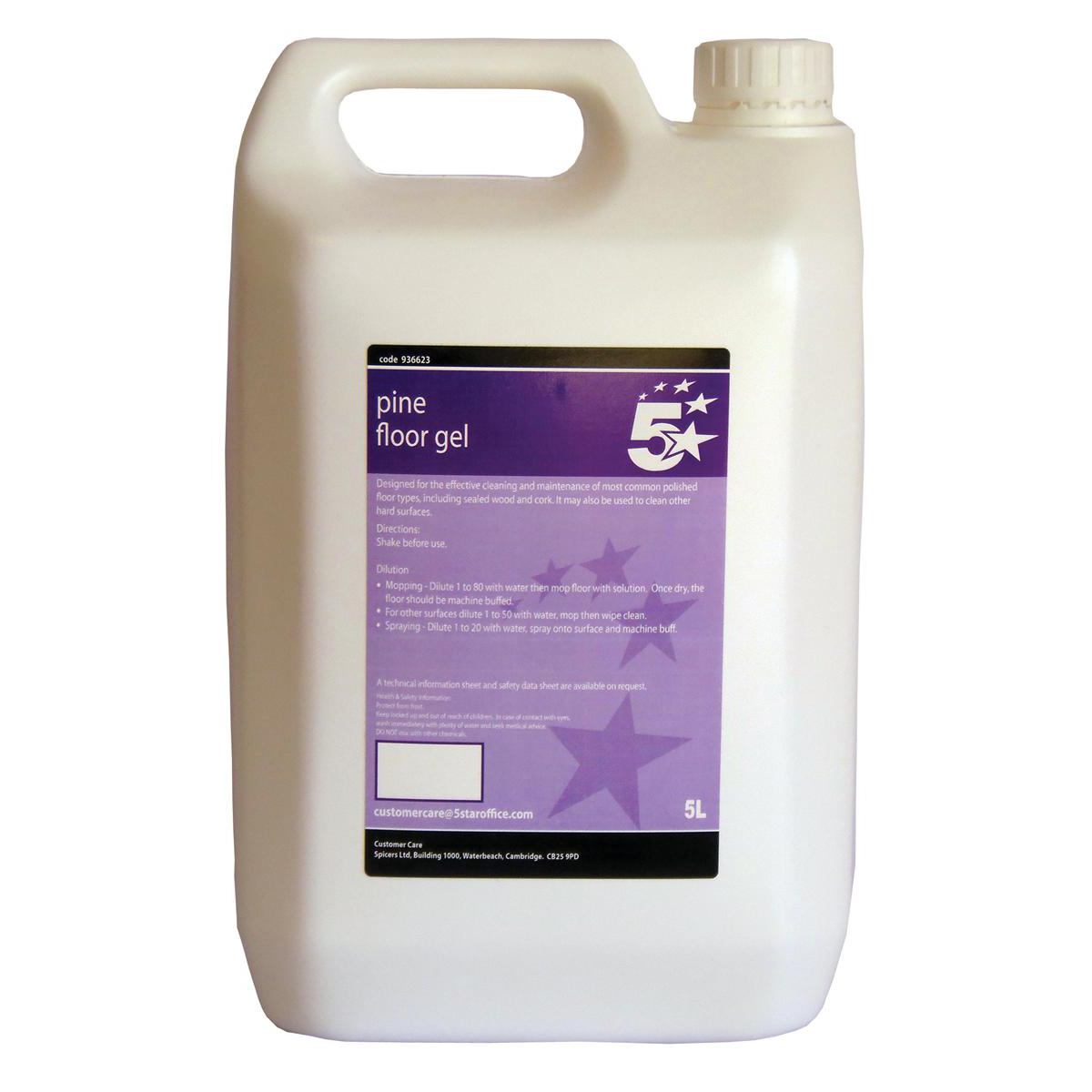 5 Star Facilities Pine Floor Gel 5 Litres
