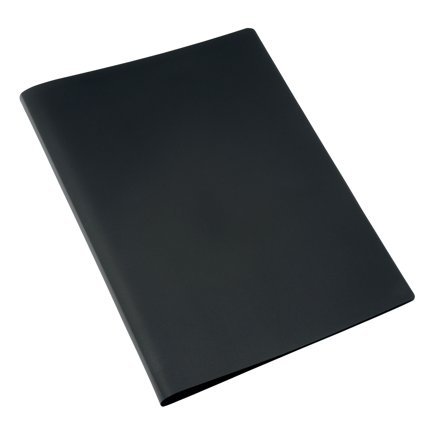 5 Star Soft Cover Disp Bk 10 Pkt Black