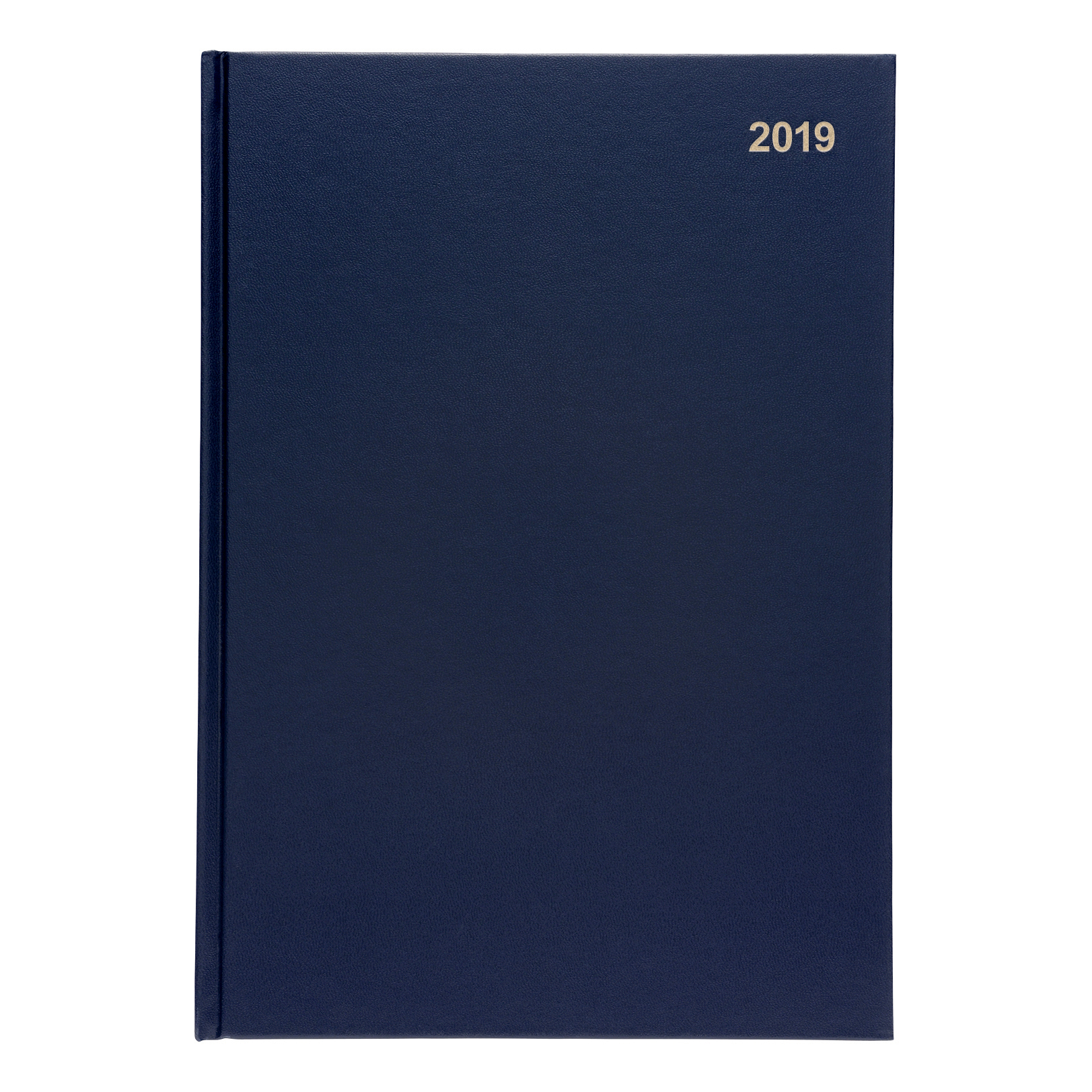 5 Star 2019 A4 Day to Page Diary Blue