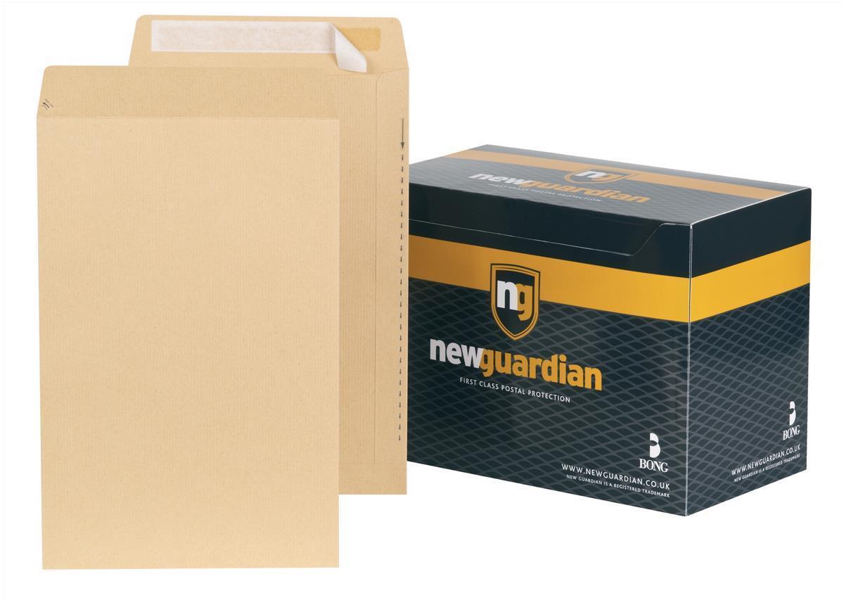 New Guardian Envelopes Heavyweight Pocket Peel and Seal Manilla 356x229mm [Pack 250]