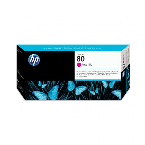 Hewlett Packard [HP] No. 80 Inkjet Cartridge Magenta Ref C4822A