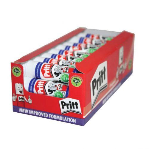Pritt Stick Glue Solid Washable Non-toxic Standard 11gm Ref 1564149 [Pack 100] [Bulk Pack] Jan-Dec 2018