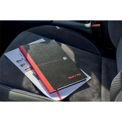 Black n Red Notebook Ruled Casebound 90gsm B5 Ref 400082917 [Free Coffee] Jan-Dec 2018