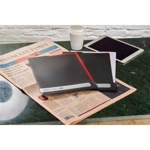 Black N Red Executive L Folder Ref 400051533 [2 For 1] Jan-Dec 2018